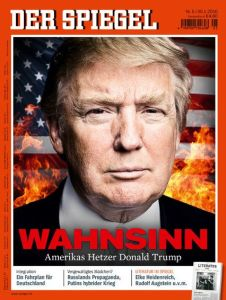 Der Spiegel cover, 2016.01.03