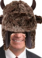 Mike Rounds buffalo hat