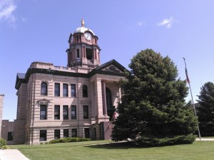 Brown County Courthouse, Aberdeen, South Dakota, USA