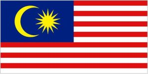 Official Malaysian flag