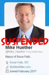 Fake Mike Huether Twitter