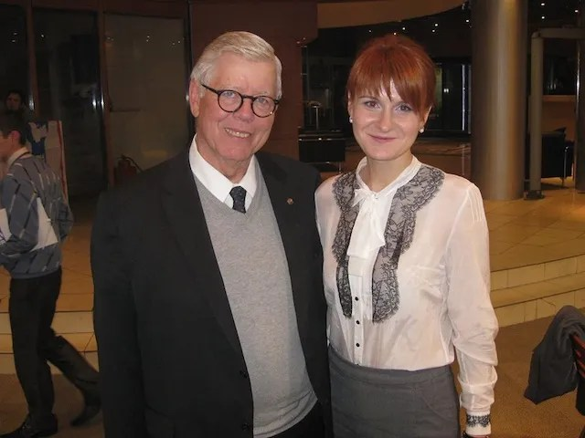 David Keene and Maria Butina [source: Maria Butina, Facebook, 2013.11.03]