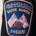 White-supremacist uniform patch, Gettysburg SD Police Department profile image, Facebook, 2017.05.23.