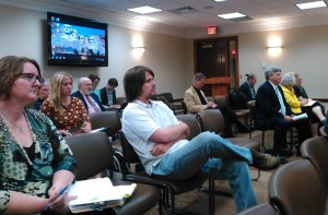 Citizens awaiting public testimony before Initiative and Referendum Task Force, State Capitol, Pierre, SD, 2017.06.21.