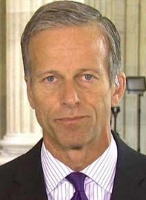 Senator John Thune, on Fox News, making stuff up about the Senate GOP's ACA repeal.