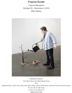 "Friedrich Kunath, ""All of My Problems Are Water Based (Tree),"" 2010"