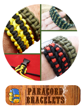 Dakota Gear Paracord Bracelet Kits, Instructions, How to and MORE