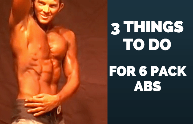 3 Important Tips For 6-Pack Abs