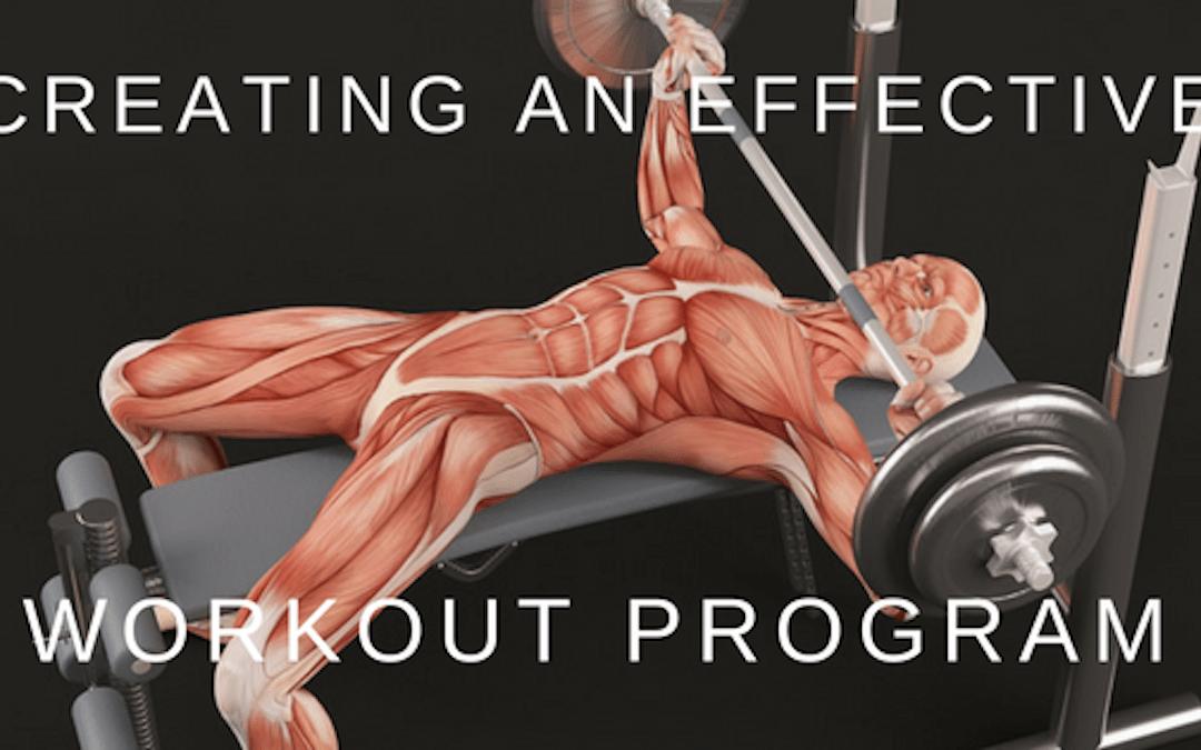 Creating an Efficient Workout Plan