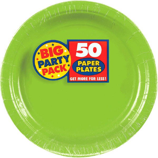 Lime Green Kiwi Big Party Pack 7u2033 Paper Plates 50ct  sc 1 st  Dakota Party & Lime Green Kiwi Big Party Pack 7u2033 Paper Plates 50ct u2013 Dakota Party