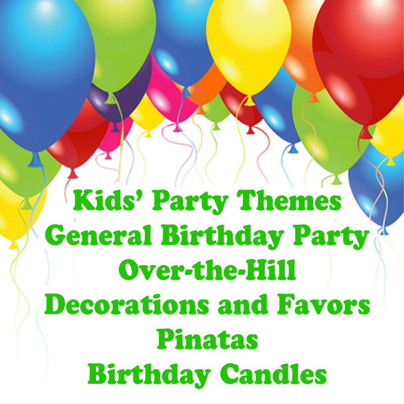 Dakota Party Party Supplies for all Occasions