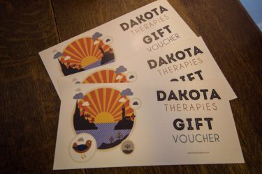 Treat a friend to a Dakota Therapies Gift Card