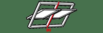 VELUX EKW 0021E