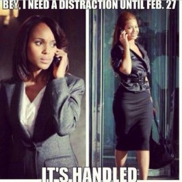 Coming as it did when many were digesting the #Scandal mid-winter finale (when winter has even officially started) led to the Illuminati Meme