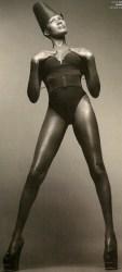 Icon Grace Jones (62)