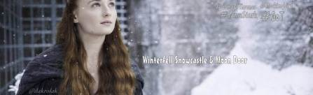 Winterfell Snowcastle & Moondoor