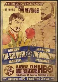 GoT: Red Viper vs The Mountain