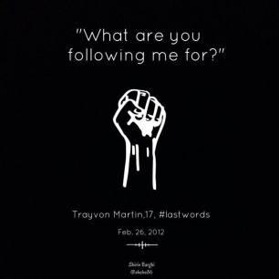 #JusticeForTrayvon #DontShootHandsUp #NMOS14