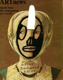 Ray Johnson ArtNews Cover of Molly Ringwald