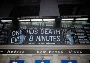 ACTup One AIDS Death Every 8 Minutes Grand Central