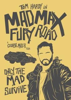 Mad Max: FURY ROAD   alt minimalist posters