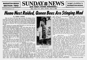 Ny Daily News Day after headline for Stonewall