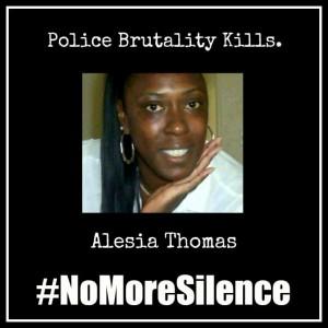 #NoMoreSilence Avatars Aleisa Thomas