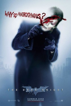 (Why So Androgynous?: Ziggy Stardust as Dark Knight Joker) See All David Bowie Posts See All David Bowie Movie Poster Mashup