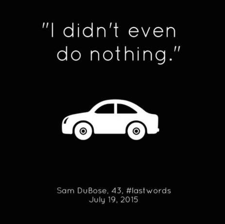 Sam Dubose lastwords