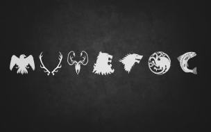 Minimalist Sigils of the Houses of Game of Thrones