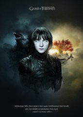 Bran Stark Jack Usephot Game of Thrones Poster