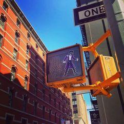 Prince Walk Sign in NYC Soho