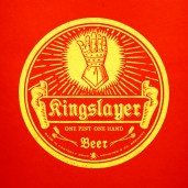 Kingslayer Game of Thrones Hipster MicroBrew Beer Labels
