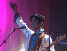 Prince at 2006 BRIT awards