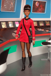 Uhura Barbie-collection 02