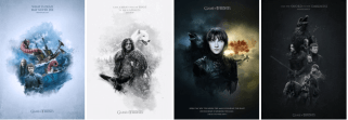 Jake Usephot: Game of Thrones Posters
