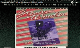 STEVIE: What Christmas Means