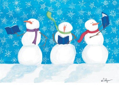 storytime snowman