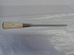 Chaira de 08 polegadas cabo de osso