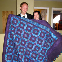 Ellis newlywed quilt