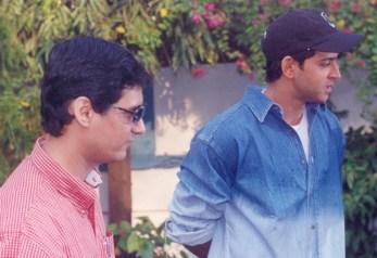 Publicist Dale Bhagwagar with Hrithik Roshan1