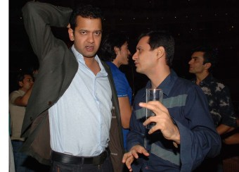 rahul 5. Dale explains the situation to a jittery Rahul Mahajan who does not want to believe it.