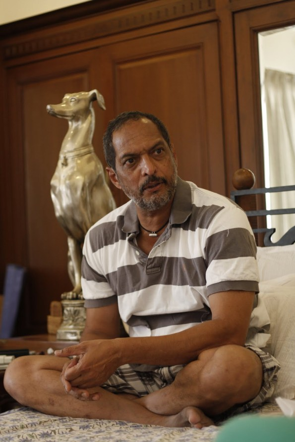 A file picture of Nana Patekar - Pic 2 (Not from film -- for representation purpose only)