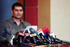 Mr. Dale Bhagwagar spokesperson of Model Viveka Babajee`s family