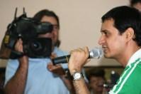 Dale Bhagwagar adressing the media. - Pic 4