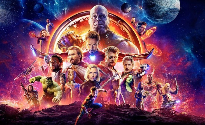 Avengers - Infinty War. Pic 1 (Image Courtesy - Internet)