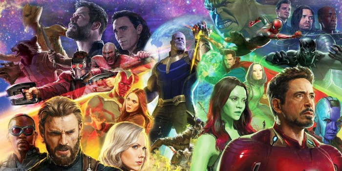 Avengers - Infinty War. Pic 2 (Image Courtesy - Internet)