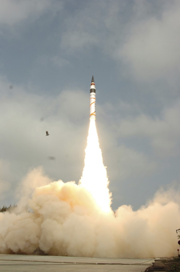 India's Agni-V missile (Image courtesy - Internet) For representation purpose only.