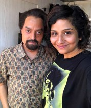 Preetisheel Singh on the sets of Chhichhore 7