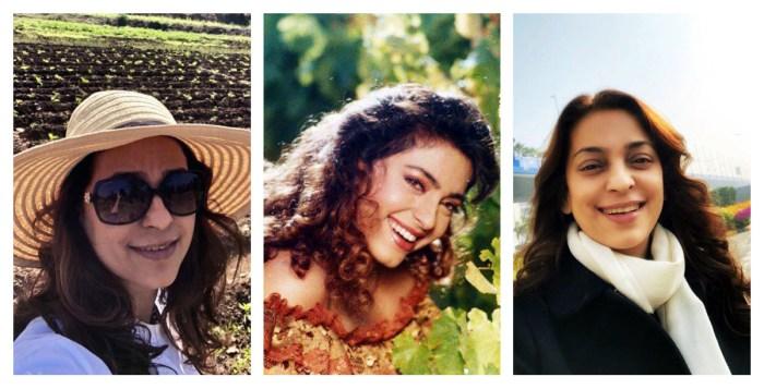 Juhi Chawla collage 2